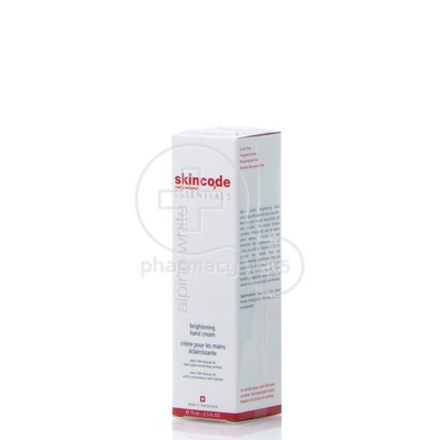 SKINCODE - ALPINE WHITE Brightening Hand Cream - 75ml