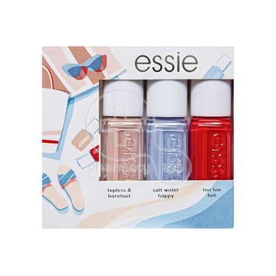 ESSIE - Mini Summer Τopless & Βarefoot - 3x5ml