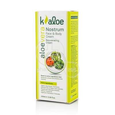 KALOE - NOSTRUM Face & Body Cream - 100ml