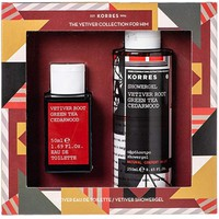 Korres The Vetiner Collection For Him Eau De Toilette 50ml + Showergel 250ml