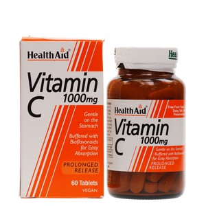 Health aid vitamin c 1000mg 60 tablets enlarge
