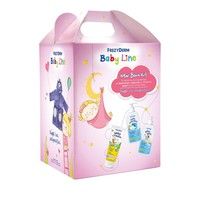 FREZYDERM BABY NEW BORN KIT GIRL (SHAMPOO 300ML+ BATH 300ML+CREAM 175ML+ΔΩΡΟ ΜΠΟΥΡΝΟΥΖΙ)