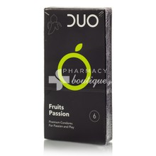 DUO Fruits Passion - Προφυλακτικά, 6τμχ