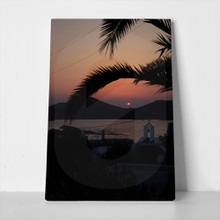 Sunset in paros 1090236077 a