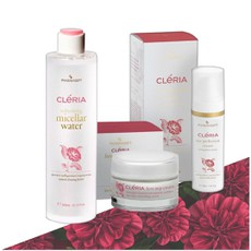 Pharmasept Cleria Eye Perfection Cream 30ml + Cleria Refreshing Micellar Water 300ml + Cleria First Step Cream 50ml.