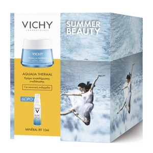 Vichy aqualia thermal light cream promo pack & ΔΩΡΟ Mineral 89 10ml