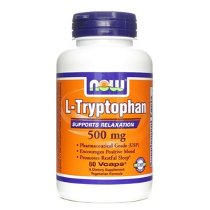Now foods l tryptophan 500 mg