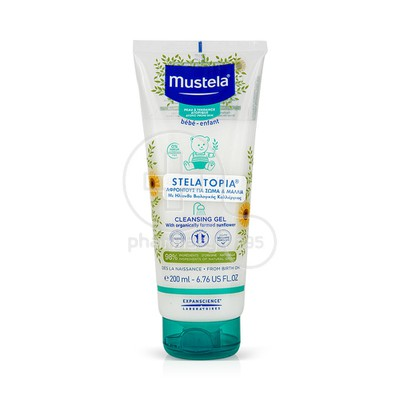 MUSTELA - STELATOPIA Gel Lavant - 200ml