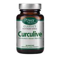 POWER HEALTH CLASSICS PLATINUM CURCULIVE 30CAPS