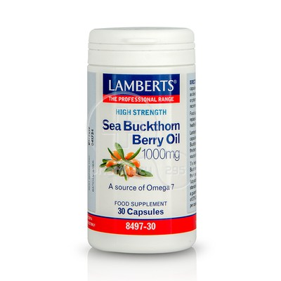 LAMBERTS - Sea Buckthorn Berry Oil 1000mg - 30caps