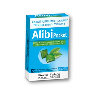 Alibi pocket 12pastilies
