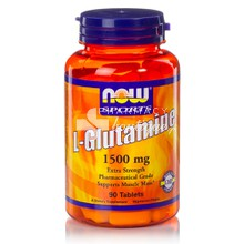 Now Sports L-GLUTAMINE 1500mg, 90tabs