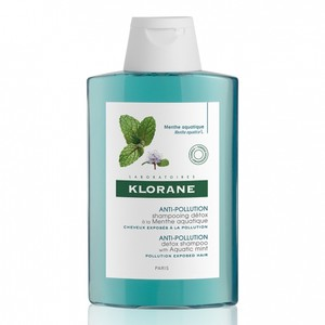 Klorane detox shampoo with aquatic mint 400ml