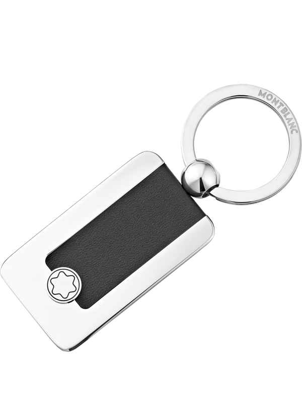 Meisterstück Key Fob-Rectangular Metal/Leather
