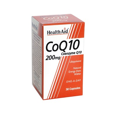 Health Aid - CoQ10 200mg - 30caps