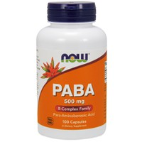 NOW PABA 500MG 100CAPS