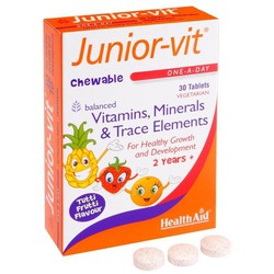 Health Aid Junior Vit Tablets 30tabs