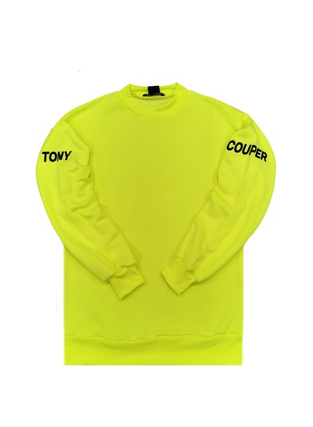 TONY COUPER GREEN LIGHT OVERSIZE HOODIE