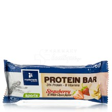 My Elements Protein Bar Strawberry & White Choco, 60gr