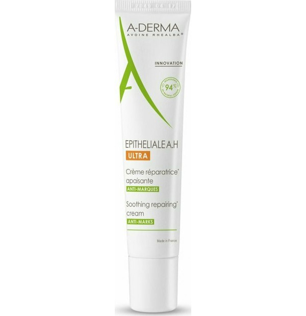 ADerma Aderma Epitheliale A.H Ultra Soothing Repairing Cream Καταπραϋντική Επανορθωτική Κρέμα, 15ml