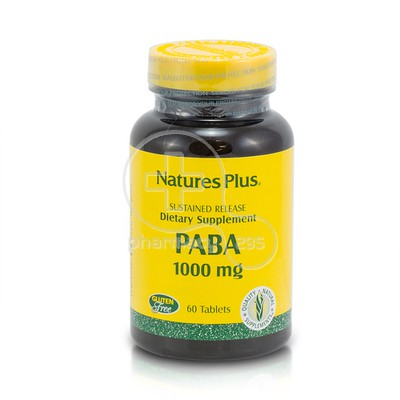 NATURE'S PLUS - PABA 1000mg - 60tabs