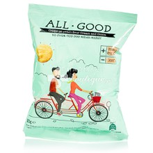 Power Health All Good Crisps - Onion & Sour cream, 30gr