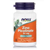 NOW ZINC PICOLINATE 50MG 60VEG. CAPS