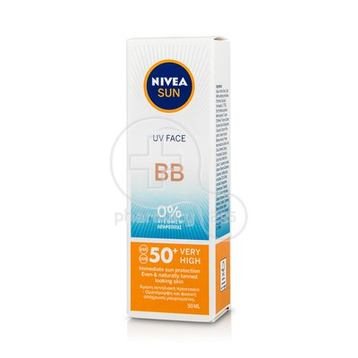 NIVEA - SUN UV Face Cream BB SPF50 - 50ml