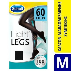 Light legs 60den black medium