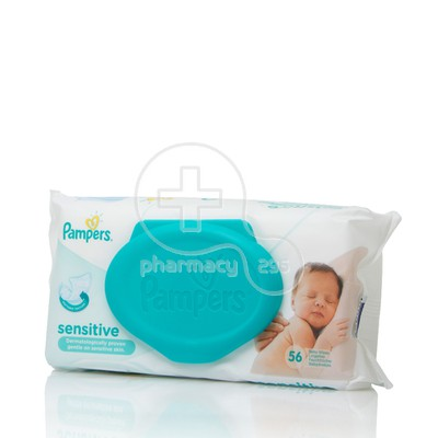 PAMPERS - Μωρομάντηλα Sensitive - 56τεμ.