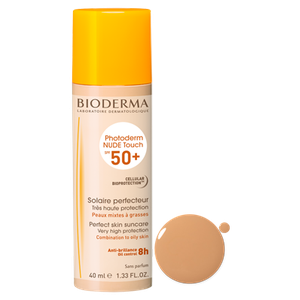 Bioderma nude touch spf 50  golden