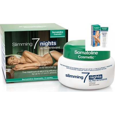 Somatoline Cosmetic Intensive 7 Nights Slimming Ultra Intesif 400ml & Anti-Cellulite Incrustee Resistant 150ml  -30%