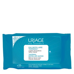 Uriage thermal micellar water make up remover wipes
