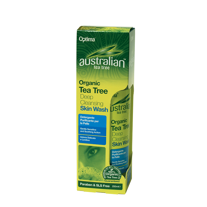 Australian Organic Tea Tree Deep Cleansing Skin Wash