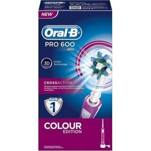 Oral b pro 600 colour purple