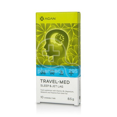 AGAN - TRAVEL MED Sleep & Jet Lag - 10chew.tabs