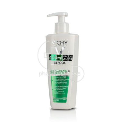 VICHY - DERCOS Shampoo Anti-Dandruf - 390ml Normal/Oily Hair