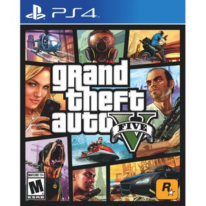 LOJE PS4 GRAND THEFT AUTO V