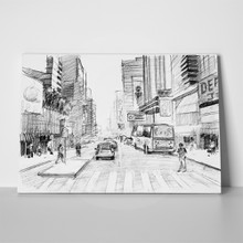 New york pencil drawing 137260298 a