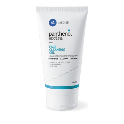 Panthenol - Extra Face Cleansing Gel, Τζελ Καθαρισμού-Ντεμακιγιάζ Προσώπου - 150ml