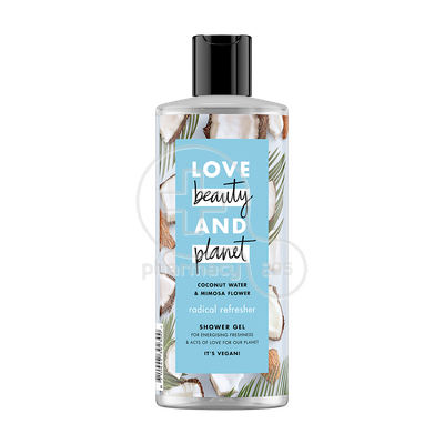 LOVE BEAUTY AND PLANET - Αφρόλουτρο Coconut Water And Mimosa Flower - 500ml