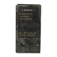 Korres Ανδρικό Άρωμα Black Pepper Cashmere Lemonwood 50ml