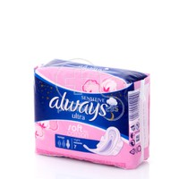 ALWAYS - SENSITIVE Ultra Soft Like Cotton Night (με φτερά) - 7τεμ.
