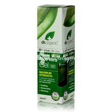 Dr.Organic Aloe Vera GEL DOUBLE STRENGTH - Υγεία Επιδερμίδας, 200ml