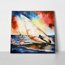 Oil painted windsurfer 76090441 a