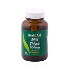 Health Aid Milk Thistle Extract 500mg 30 ταμπλέτες