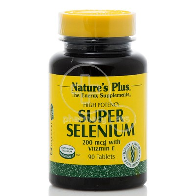 NATURE'S PLUS - SUPER Selenium with Vitamin E 200mcg - 90 tabs