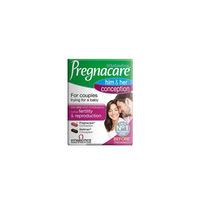 VITABIOTICS PREGNACARE HIS AND HER CONCEPTION (30TABL+30TABL)
