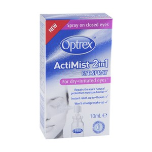 Optrex actimist for dry   irritated eyes 10ml