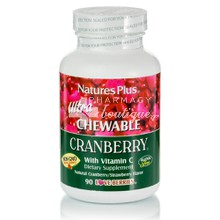 Natures Plus Ultra Chewable Cranberry, 90 chewable tabs